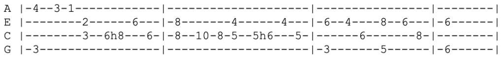 shakira - hips dont lie - ukulele tabs