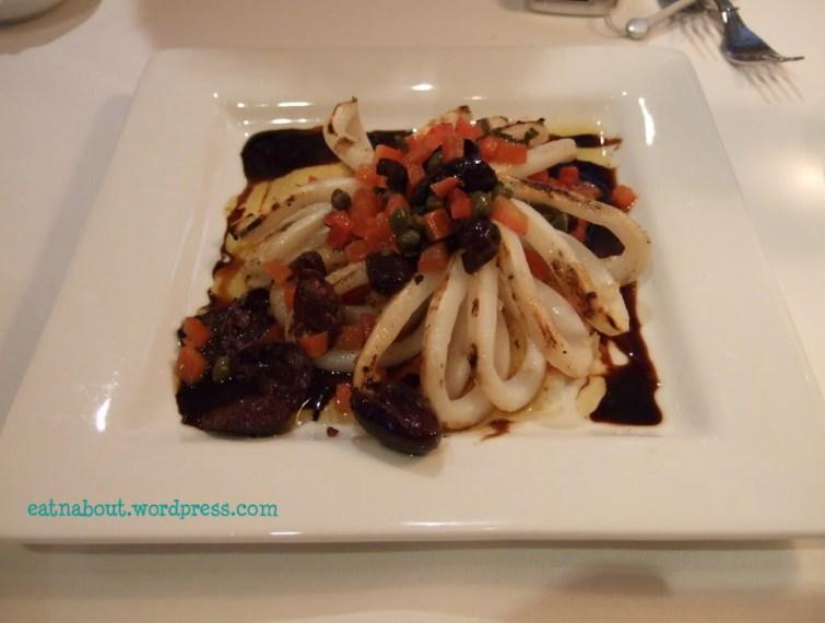 Al Porto Ristorante: grilled calamari