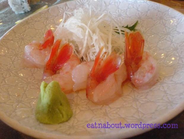 Ichiro Japanese Restaurant: Big Amaebi Sashimi