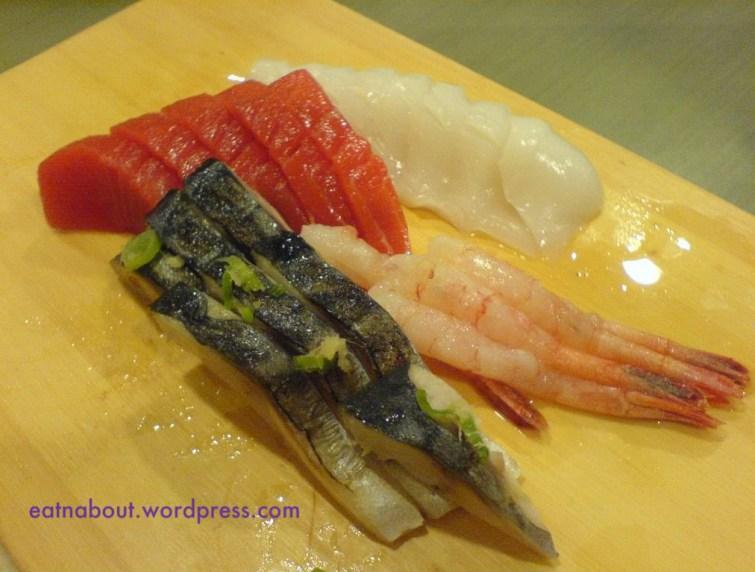 Kingsway Sushi sashimi