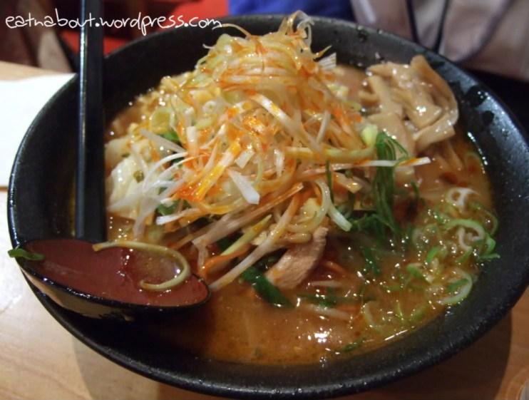 Motomachi Shokudo: Spicy Miso Ramen with Organic Chicken