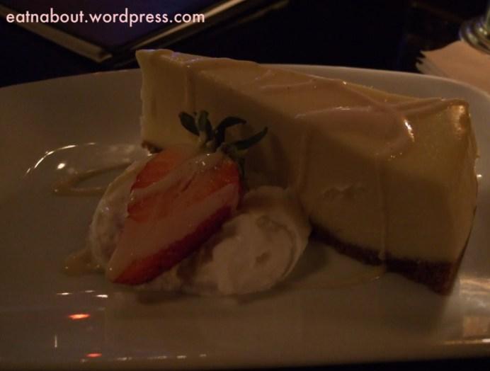 Granville Room: Vanilla Cheesecake