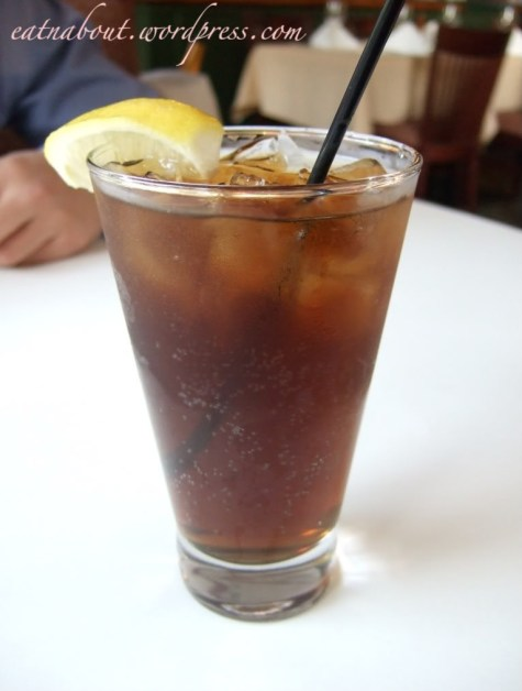 The Fish House at Stanley Park: Long Island Iced Tea