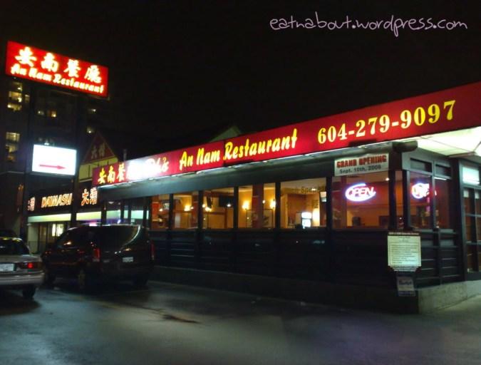 An Nam Restaurant exterior