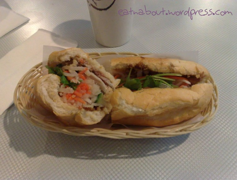 An Nam Restaurant: Lemongrass Chicken Sub