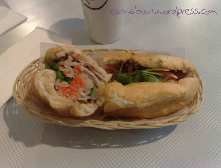 An Nam Restaurant: Lemongrass Chicken Sub