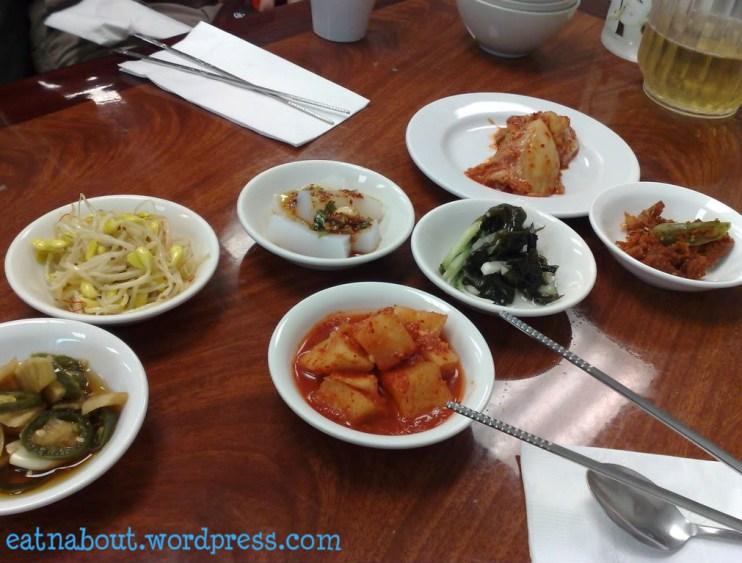 New Seoul Restaurant banchan