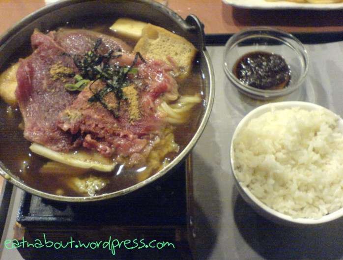 Well Tea: Sukiyaki Hotpot