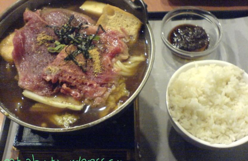 Well Tea Sukiyaki Hotpot