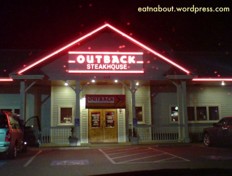 The Outback Steakhouse