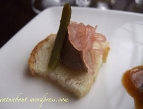 Regional Tasting Lounge: Pate au Foie Gras de Canard (French) canape