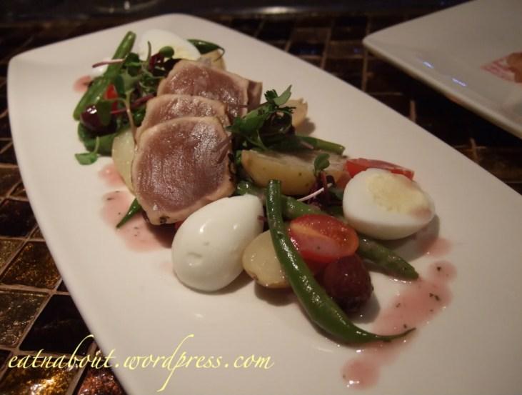 Regional Tasting Lounge: Nicoise Salad