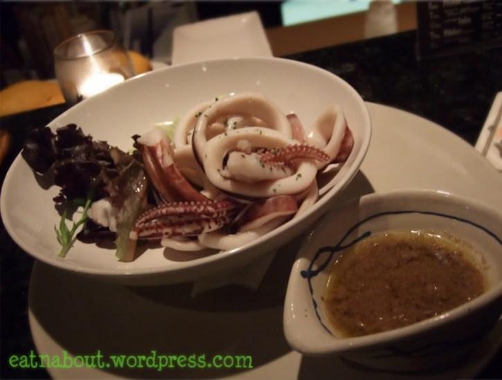 Alpha Sushi: Cuttlefish Anchovy Dip