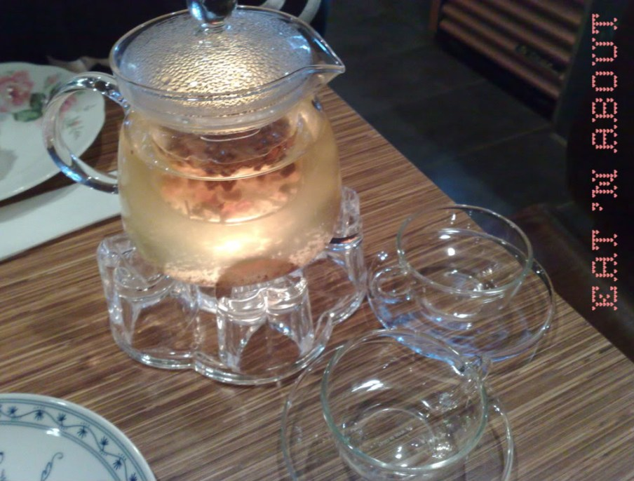 Berry Good Cafe: Golden Fruit Melody tea