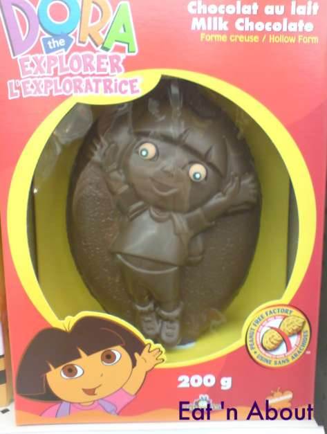 Dora the Explorer Easter Milk Chocolate