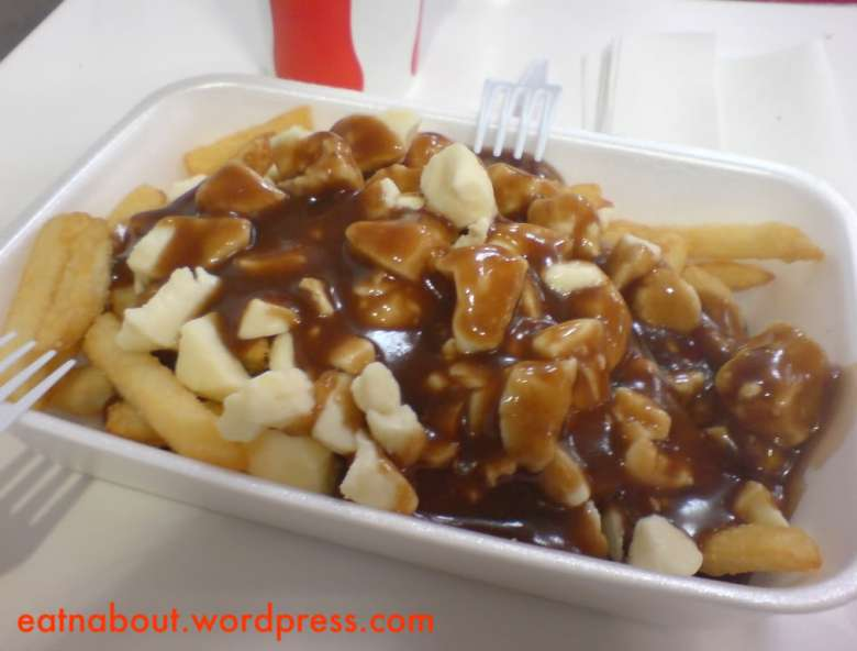Costco Food Court: Poutine
