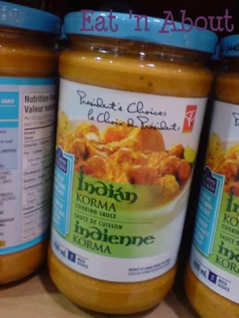 President's Choice Korma Sauce