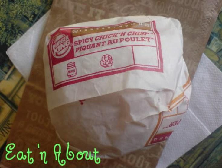 Burger King Spicy Chick'n Crisp