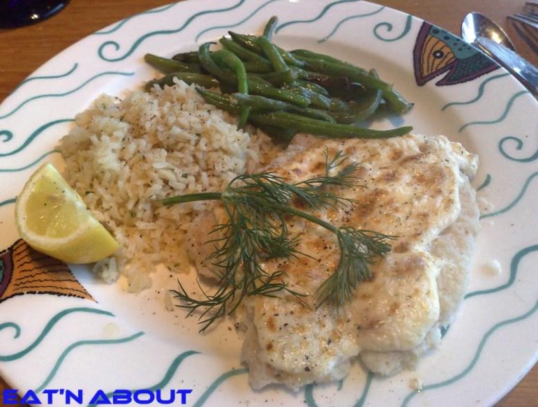 Anthony's Restaurant at Squalicum Harbor: Alaskan Lingcod Sour Cream Dill
