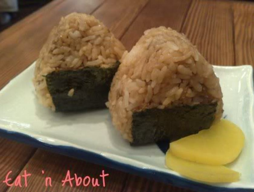 Benkei Noodle Shop: Chashu Onigiri