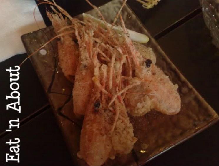 Soul Robata & Izakaya: Deep-fried Prawn Heads