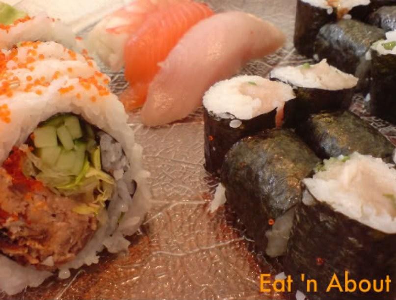 Sushi House: B.C. Combo