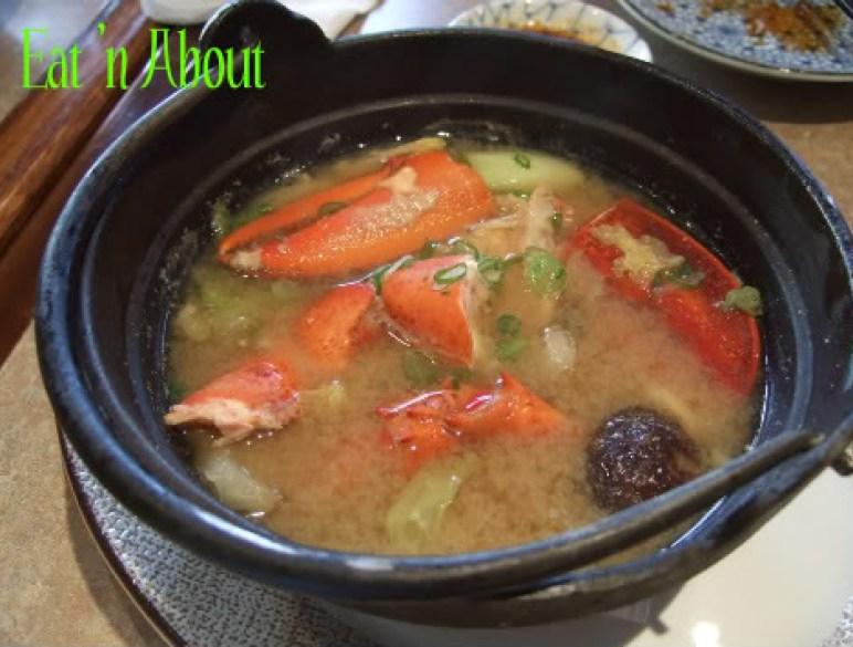 Ichiro Japanese Restaurant: Lobster miso soup