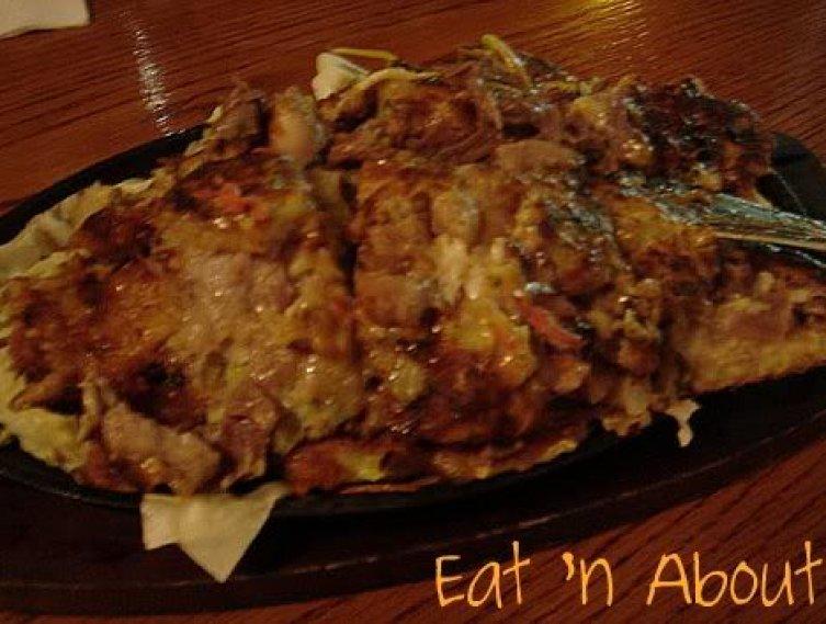 Clubhouse Japanese Restaurant: Okonomiyaki