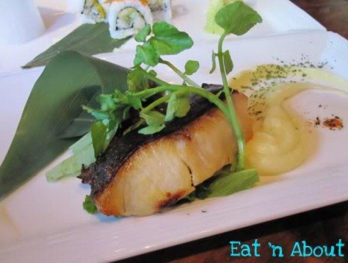Toratatsu: Gindara Saikyo Yaki (Sake-marinated sablefish)