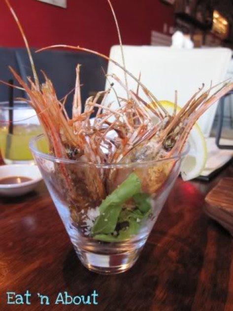 Toratatsu: Deep-fried Prawn Heads