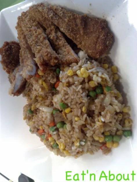 Chiffon Chinese Cuisine: Taiwanese Style Ribs Fried Rice