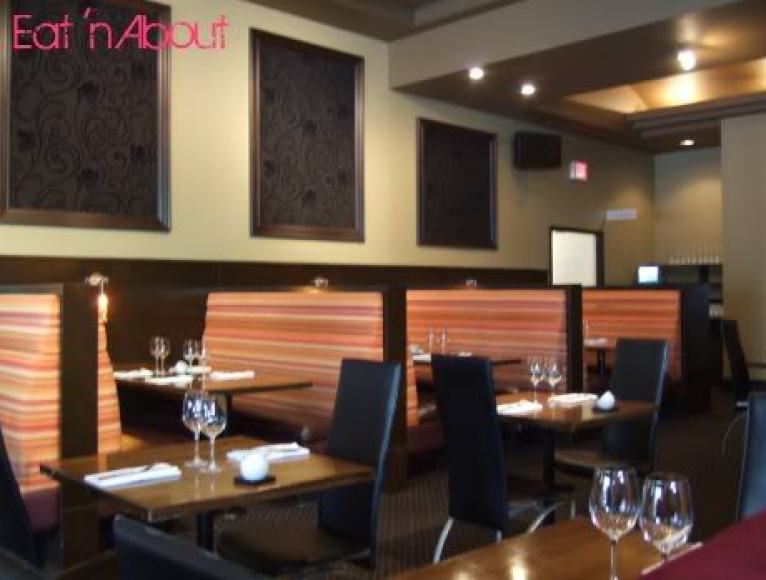 Zin Restaurant dining area