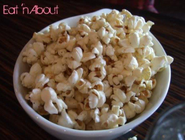 Zin Restaurant Lounge: White Truffle Popcorn
