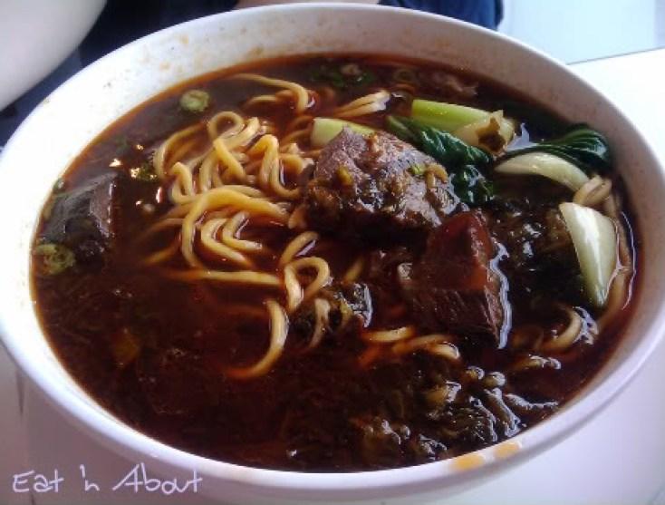 Chiffon: Taiwanese Beef Noodle Soup