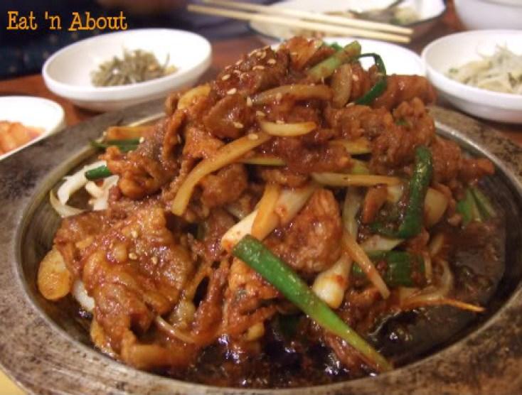 Ka Won Korean: Dwaeji Bulgogi