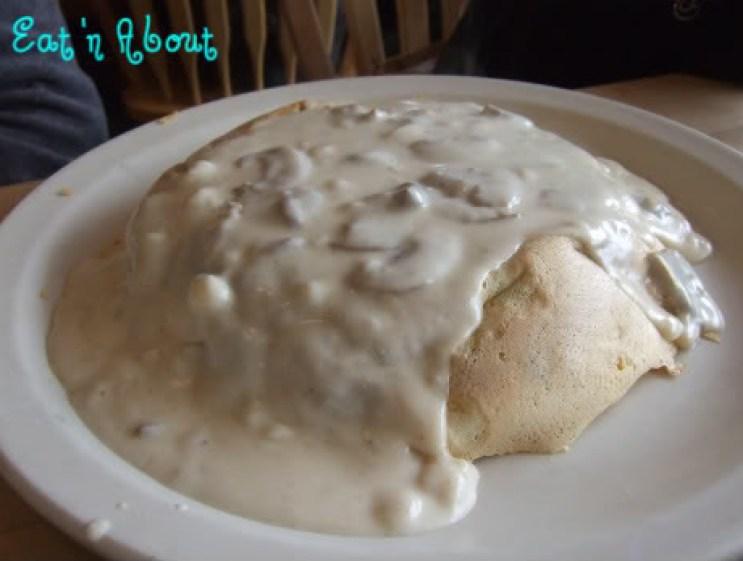 The Original Pancake House: Mushroom Omelette
