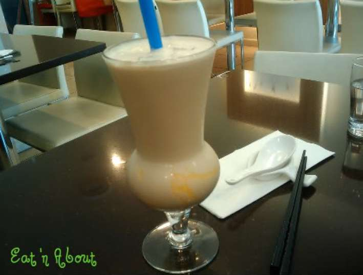Tri-ty: Ginger Milk Tea with pudding