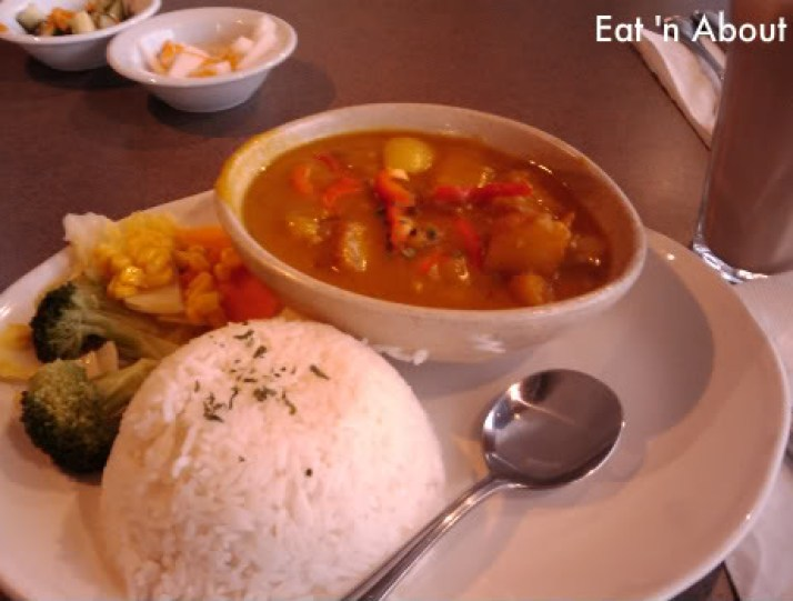 Celsius Cafe: daily special meal