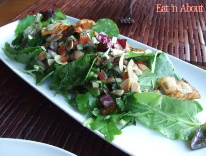 Sanafir: Garden Fresh Fattoush Salad