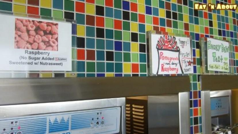 yogurt escape self serve machines