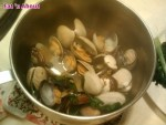 Home-cooking: Steamed Clams in Chinese Wine