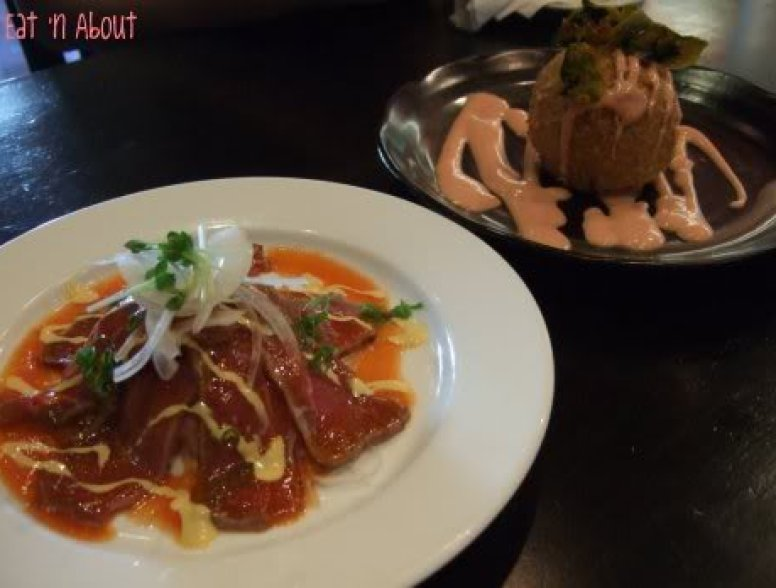 Guu Aberdeen: Beef Sashimi and Pumpkin Croquette