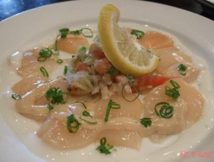 Guu Aberdeen: Scallop sashimi