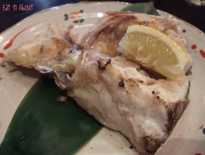 Guu Aberdeen: Salt-grilled Fish head