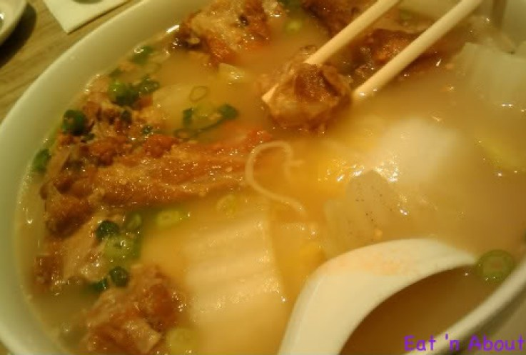 Sensus Bistro: Pork Cartilage Ramen