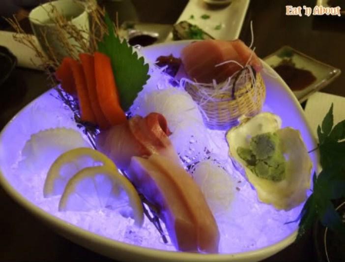 ShuRaku Sake Bar and Bistro: 5 Kinds of Sashimi