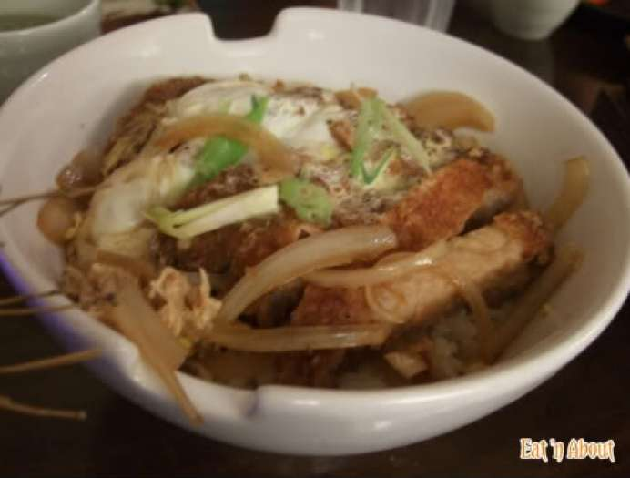 ShuRaku Sake Bar and Bistro: Pork Donburi