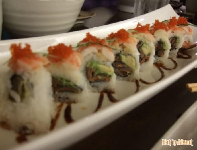 ShuRaku Sake Bar and Bistro: Dragon Roll