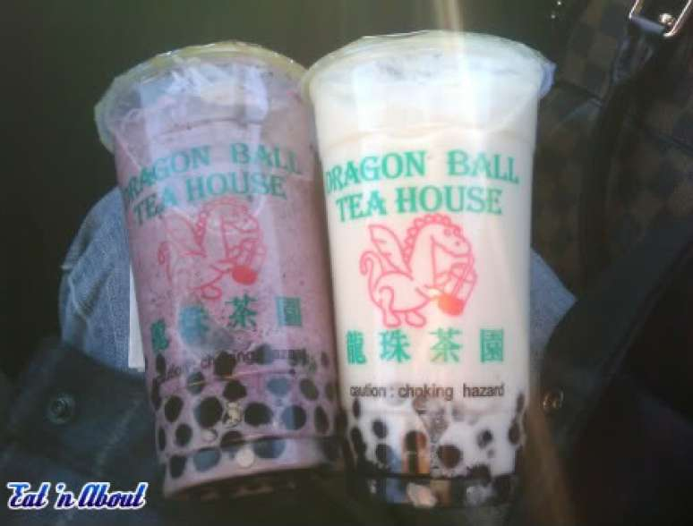 Dragon Ball Tea House Bubble Tea