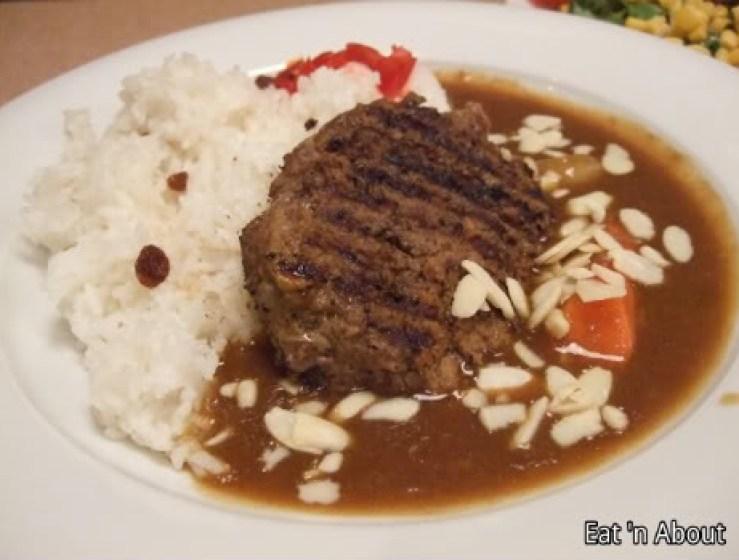 Aoyama Cafe: Hamburg Curry Rice